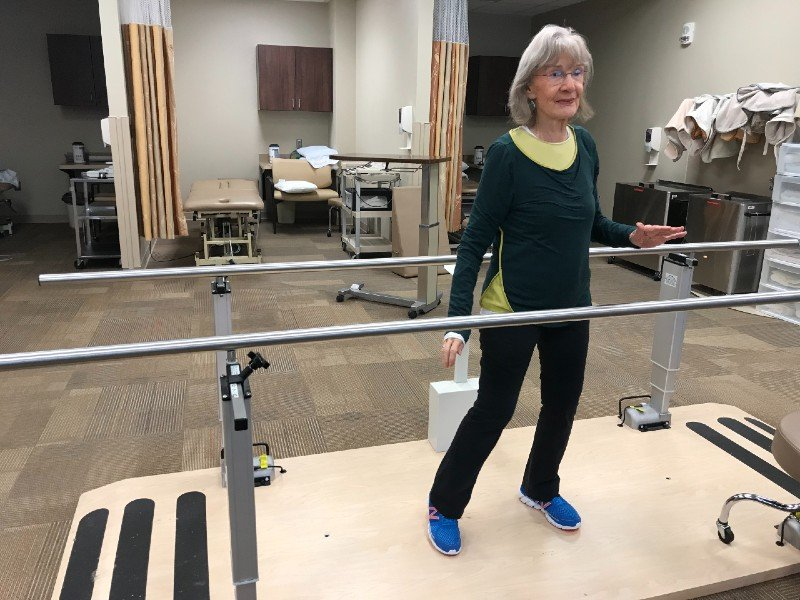 standing march physical therapy